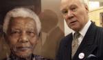Richard Stone and his Mandela portrait