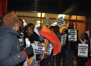 Kiganda protest london