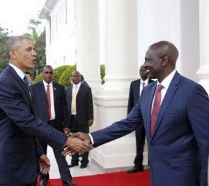 Obama meets Kenyan Anti-Gay Deputy President William Rato