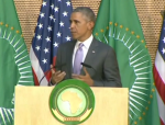 First U.S. President to Speak at the African Union