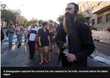 Jerusalem pride attack stab