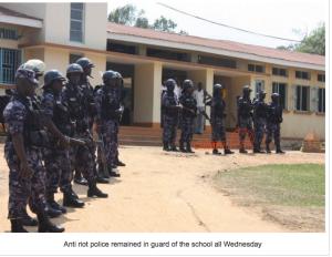 Police Uganda school