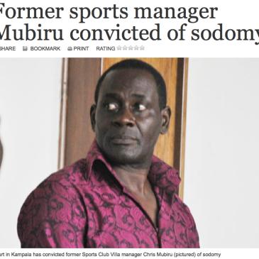 Mubiru Sodomy Uganda