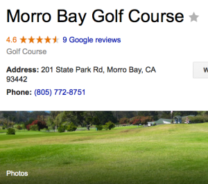 Morro Bay Gold Club
