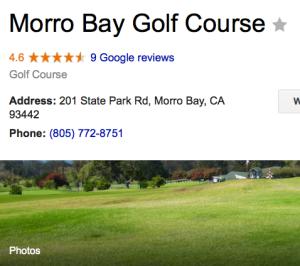 Morro Bay Gold Club