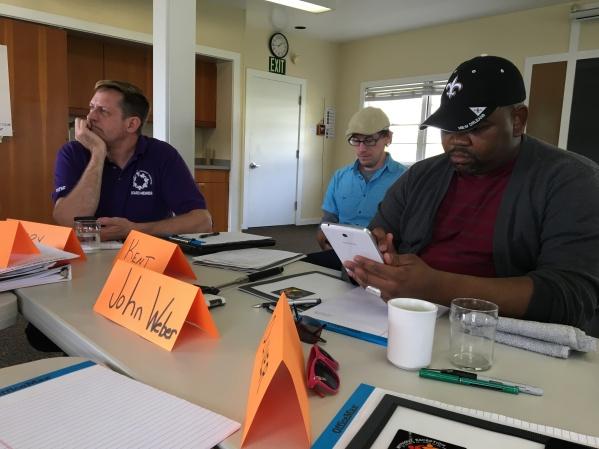 On Board of directors - John Weber at retreat