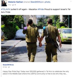 IDF Pride Shot