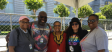 Bishop Yvette Flunder and her team with Melanie Nathan, San Francisco Pride Board, Secretary.