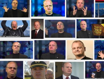 The Many faces of an anti-LGBT Bigot - Gordon Klingenschmitt, and the voters got it right!