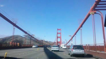 photo by Melanie Nathan: Gateway to Marin, The Golden Gate Bridge.