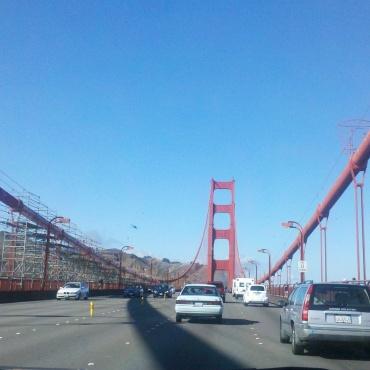 photo by Melanie Nathan: Gateway to Marin, The Golden Gate Bridge.