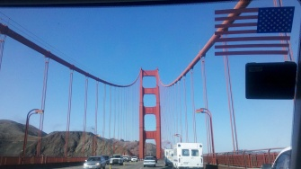 Golden Gate bridge to marin