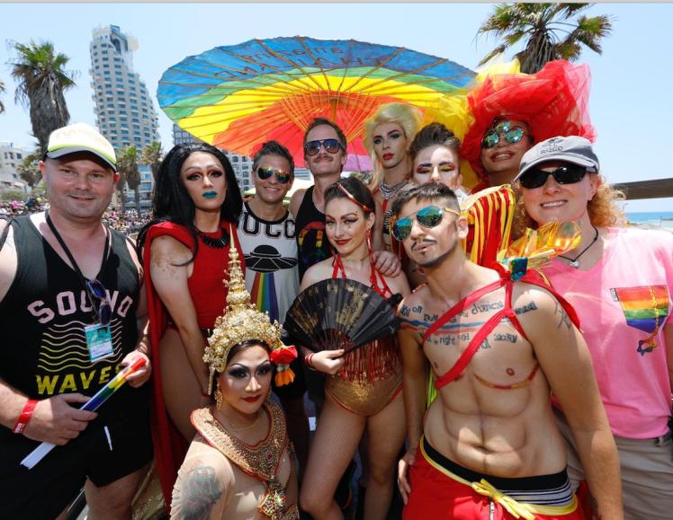 Thanks forPhotos to Guy Yechiely: Tel Aviv Pride 2019